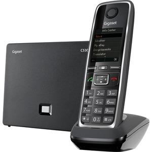 Schnurlostelefon mit Farbdisplay für VoIP und analogen Anschluß C530 IP