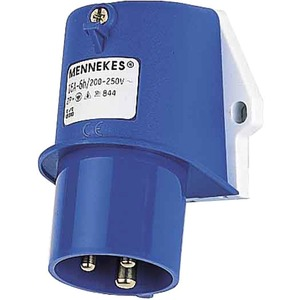 CEE-Wandgerätestecker 16A 3p 230V 6h IP44