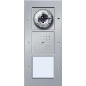 Türstation Video AP 1-fach Türkommunikation Farbe Aluminium
