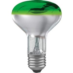 Glühlampe Reflektor R80 60 Watt E27 Grün