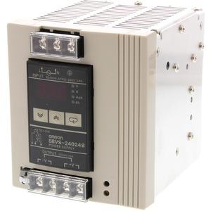 Schaltnetzteil 240 W 100 - 240 VAC / 24 VDC / 10 A Dig.Anzeige NPN