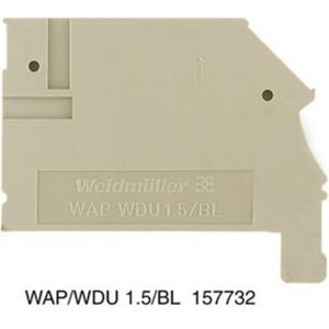 Abschluss- und Zwischenplatte WAP WDU1.5/BLZ/ZA