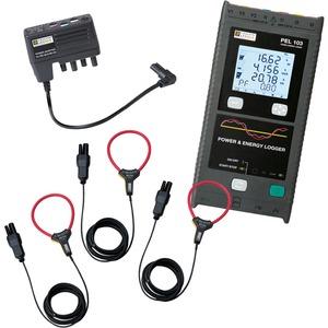 PEL 103 Leistungs- und Energierekorder + MA193 Ampflex + Netzadapter