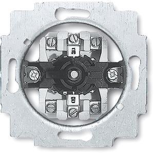 Unterputz Jalousieschalter mit Drehgriff 2-polig