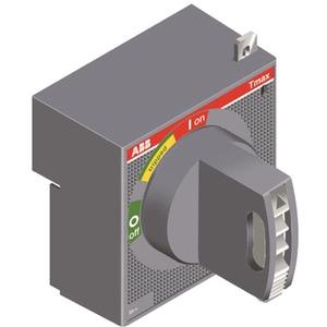 Drehantr. T4-T5 F/P Rotgelb A:500mm Zub. f. Leistungsschalter T4-T5 Dr