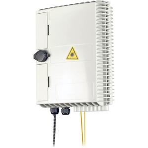 Hausanschlussbox (APL) für FTTx max. 16 SC-S / LC-D mit Schloß