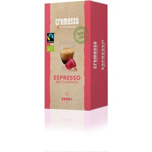 Kaffee Kapseln für Cremesso Kapselmaschine Espresso Bio Classico 16 Stk.