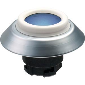 Leuchttaster BLAU für Fronteinbau