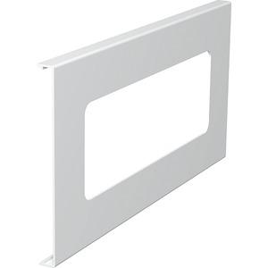 Oberteil für Geräteeinbau 3fach 150x300mm PVC reinweiß RAL 9010