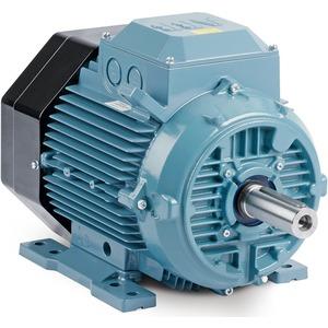 Kurzschlussläufermotor IE2 ALU B3 / Baugr. 63 2-polig 400 VY / 0,18 kW