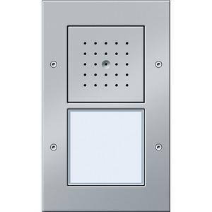 Türstation AP 1-fach Türkommunikation Farbe Aluminium