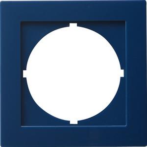 Adapterrahmen 50x50 rund für S-Color blau