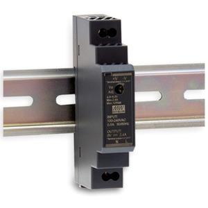 Schaltnetzteil für DIN - Schienenmontage 230 VAC / 24 VDC/ 0,63A kurzschlußfest