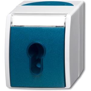 Aufputz Schalter/Taster Schlüsselschalter ocean (IP 44)