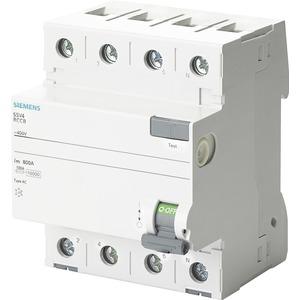 Fehlerstromsschutzschalter / FI 4p Typ AC 40 A 30 mA 400 V therm. Überlastschutz