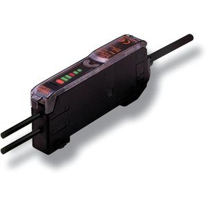 Lichtleiterverstärker DC 3-adrig PNP Diagnoseausgang 2m Kabel