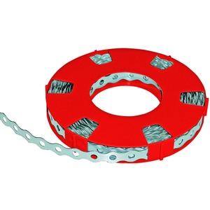 Metallmontageband 12 mm x 0,7 mm Loch 5,1 mm 10 m