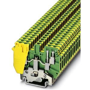 Schutzleiter-Reihenklemme UDK 4-PE grün-gelb