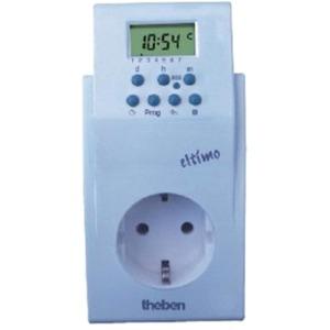 Digitale Steckdosenschaltuhr ELTIMO 020 S für SCHUKO-Steckdosen