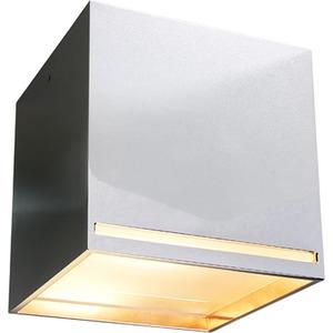 Deckenanbauleuchte GROOVE aluminium