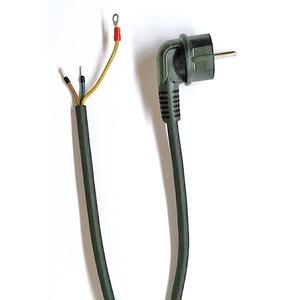 Kabel H07RN-F 3G1,5mm L=3m mit Winkelstecker konfektioniert