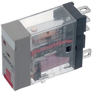 Leistungrelais Prüftaste 1 Wechsler 12 V AC