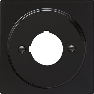 Abdeckung mit Tragring Geräte mit 22,5 mm für S-Color schwarz