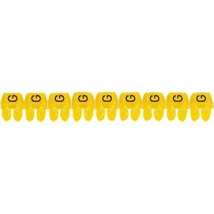 """CAB 3 Kabelkennzeichnung 1,5 - 2,5 mm² Buchstabe """"G"""""""