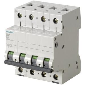 Leitungsschutzschalter 400V 10kA 4-polig C 0.5A