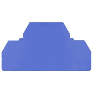 Abschlussplatte für Direktmontage Z-Reihe hellblau