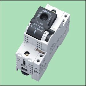Lasttrennschalter D0 bis 63A 1p+N 31308 Ambus Powerswitch