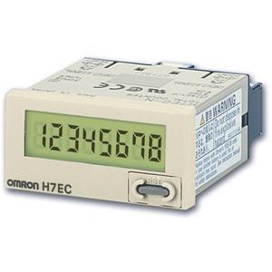 LCD-Summenzähler grau 48x24mm Display: 24VDC 30Hz/1kHz 0 - 99999999