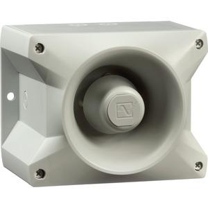 Schallgeber PA 10 GRAU für kürzere und sichere Montagezeiten 110 dB(A)