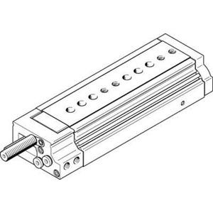Mini-Schlitten Kugel-Käfig-Führung Baugr. 25 mm / Hub 100 mm P1-Dämpf.