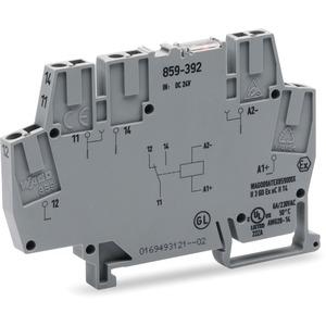Schaltrelaisklemme Relais mit 1 Wechsler 24 DC 6mm