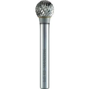 Hartmetall Frässtift KUD Ø 6x35 mm Zahnung 3 Schaft Ø 3mm