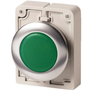Leuchtmelder FlatFront flach grün