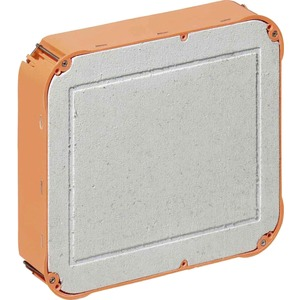 Hohlwand Universal-Einbaugehäuse 235 x 205 x 72 mm m. Mineralfaserplatten