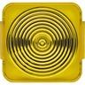 Haube für Lichtsignal E 10 gelb
