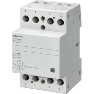 INSTA-Schütz 4Ö Kontakt für AC230V 400V 40A Ansteuerung AC24V