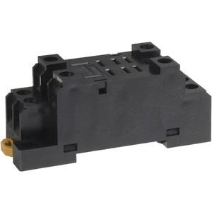 Sockel für DIN-Schienen- Oberflächenmontage für LY1 + LY2 Schraubkl.
