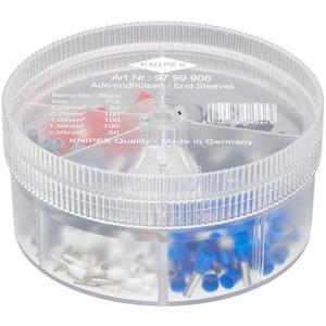 Sortimentsbox mit isolierten Aderendhülsen