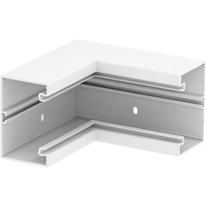 Inneneck 70x110mm PVC cremeweiß RAL 9001