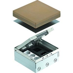 Geräteeinsatz komplett mit Schutzkontaktsteckdose V2A