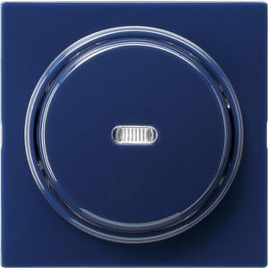 Abdeckung und Wippe mit Kontrollfenster für S-Color blau
