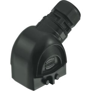 Tüllengehäuse mit integrierter Kabelverschraubung 6 B Han-Eco M32 1x