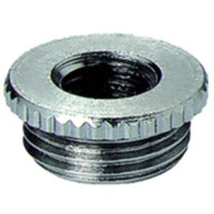 Reduktion M50M40 Messing/Vernickelt