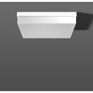 FLAT QUADRAT Decken/Wandleuchte LED 8x10W 3000K 470x470x100mm