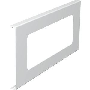 Oberteil für Geräteeinbau 3fach 130x300mm PVC reinweiß RAL 9010