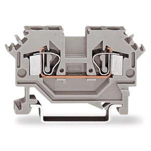 2-Leiter-Durchgangsklemme 0,08 - 4 mm² grau
